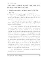 GIẢI PHÁP THÚC ĐẨY HOẠT ĐỘNG ĐẨU TƯ NƯỚC NGOÀI TRÊN THỊ TRƯỜNG CHỨNG KHOÁN VIỆT NAM