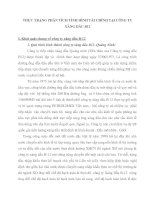 THỰC TRẠNG PHÂN TÍCH TÌNH HÌNH TÀI CHÍNH TẠI CÔNG TY XĂNG DẦU B12