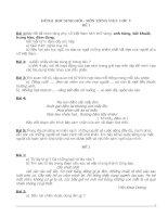 Bài soạn BO DE VA DAP AN HSG-TV5