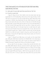 Thực trạng quản lý rủi ro tín dụng tại Sở giao dịch Ngân hàng ngoại thương Việt Nam