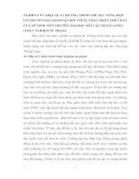 NGHIÊN CỨU HIỆU QUẢ CHƯƠNG TRÌNH THỂ DỤC TỔNG HỢP CỔ TRUYỀN HAI GIAI ĐOẠN ĐỐI VỚI SỰ PHÁT TRIỂN THỂ CHẤT CỦA NỮ SINH VIÊN TRƯỜNG ĐẠI HỌC DÂN LẬP THĂNG LONG