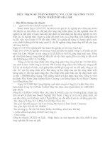 THỰC TRẠNG KẾ TOÁN NGHIỆP VỤ NVL  CCDC TẠI CÔNG TY CỔ PHẦN CƠ KHÍ MAY GIA LÂM