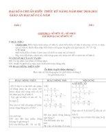 Bài giảng Giáo án Toán 8 chuẩn mới 2010-2011