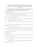 MỘT SỐ GIẢI PHÁP NHẰM HOÀN THIỆN CÔNG TÁC QUẢN TRỊ TÀI CHÍNH TẠI CHI NHÁNH NHNO