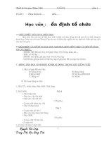 Bài soạn Giáo án tiếng việt - HKI - Toàn Tập