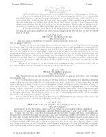 Bài giảng cac bai van mau lop 4