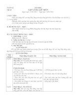Gián án GIÁO ÁN LỚP 5 TUẦN 22