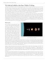 Vệ tinh tự nhiên của Sao Thiên Vương
