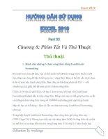 Hướng dẫn sử dụng excel 2010 part 31