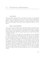 Conclusions and Integration