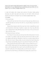 NHẬN XÉT KIẾN NGHỊ NHẰM HOÀN THIỆN CÔNG TÁC KẾ TOÁN BÁN HÀNG VÀ XÁC ĐỊNH KẾT QUẢ KINH DOANH TẠI CÔNG TY CỔ PHẦN VẬT TƯ NÔNG NGHIỆP PHÁP VÂN