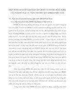 MỘT SỐ ĐỀ XUẤT VỀ XÂY DỰNG MÔ HÌNH VÀ CƠ CHẾ HOẠT ĐỘNG CỦA TỔ CHỨC ĐẦU TƯ TĂNG TRƯỞNG QUỸ BHXH Ở VIỆT NAM