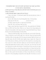 TÌNH HÌNH THỰC TẾ VỀ TỔ CHỨC KẾ TOÁN VẬT LIỆU TẠI CÔNG TY XÂY DỰNG I THANH HOÁ
