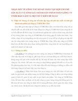 NHẬN XÉT VỀ CÔNG TÁC KẾ KẾ TOÁN TẬP HỢP CHI PHÍ SẢN XUẤT VÀ TÍNH GIÁ THÀNH SẢN PHẨM TOÀN CÔNG TY TNHH BẢO LÂM VÀ MỘT SỐ Ý KIẾN ĐỀ XUẤT