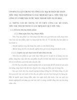 CƠ SỞ LÝ LUẬN CHUNG VỀ CÔNG TÁC HẠCH TOÁN KẾ TOÁN TIÊU THỤ THÀNH PHẨM VÀ XÁC ĐỊNH KẾT QUẢ  TIÊU THỤ TẠI CÔNG TY TNHH NHÀ NƯỚC MỘT THÀNH VIÊN XUÂN HOÀ