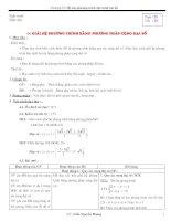 Bài giảng Đại số 9 - Chương 3