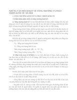 NHỮNG VẤN ĐỀ CƠ BẢN VỀ TĂNG TR¬ƯỞNG VÀ PHÁT TRIỂN KINH TẾ  XÃ HỘI