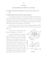 Chương 8_ Chuyển động song phẳng của vật rắn