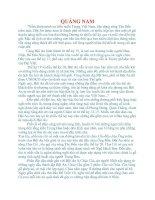 Tài liệu DANH LAM THẮNG CẢNH QUẢNG NAM