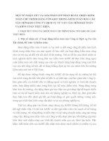 MỘT SỐ NHẬN XÉT VÀ GIẢI PHÁP GÓP PHẦN HOÀN THIỆN KIỂM TOÁN CHU TRÌNH HÀNG TỒN KHO TRONG KIỂM TOÁN BÁO CÁO TÀI CHÍNH DO CÔNG TY DỊCH VỤ TƯ VẤN TÀI CHÍNH KẾ TOÁN VÀ KIỂM TOÁN THỰC HIỆN