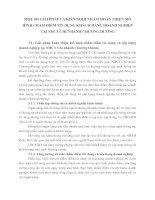 MỘT SỐ GIẢI PHÁP VÀ KIẾN NGHỊ NHẰM HOÀN THIỆN MÔ HÌNH CHẤM ĐIỂM TÍN DỤNG KHÁCH HÀNG DOANH NGHIỆP TẠI NHCT CHI NHÁNH CHƯƠNG DƯƠNG