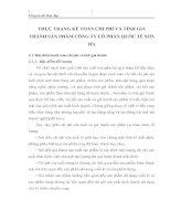 THỰC TRẠNG KẾ TOÁN CHI PHÍ VÀ TÍNH GIÁ THÀNH SẢN PHẨM CÔNG TY CỔ PHẦN QUỐC TẾ SƠN HÀ