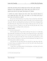 PHƯƠNG HƯỚNG HOÀN THIỆN KẾ TOÁN TIÊU THỤ THÀNH PHẨM VÀ XÁC ĐỊNH KẾT QUẢ TIÊU THỤ TẠI CÔNG TY CỔ PHẦN SẢN XUẤT VẬT LIỆU XÂY DỰNG LÝ NHÂN