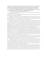 ỨNG DỤNG PHÂN TÍCH MỐI QUAN HỆ CP - SẢN LƯỢNG - LỢI NHUẬN TRONG QUÁ TRÌNH RA QUYẾT ĐỊNH NHẰM NÂNG CAO HIỆU QUẢ SẢN XUẤT KINH DOANH TẠI CÔNG TY CỔ PHẦN NHỰA ĐÀ NẴNG.