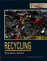 Recycling factfiles
