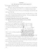 Chương 5 CÁC CHẾ ĐỘ SẤY NÓNG VÀ DỪNG ĐỘNG CƠ