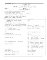 Tài liệu GA lop 2- Tuan 19, 20(Thuy)