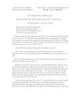 Bài soạn Bai hung bien ki niem ngay thanh lap Dang Cong San Viet Nam