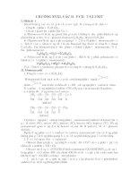 Lý thuyết và bài tập ôn thi CĐ ĐH môn Hóa - Chương 18