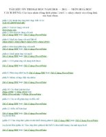 Bài giảng TAI LIEU ON TAP THI DAI HOC 2010 - 2011. (khong xem thi phi!!!)