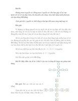 Bài giảng 10 DE, DAP AN TOAN CHON LOC (PHAN IX)