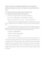 THỰC TẾ KẾ TOÁN TẬP HỢP CHI PHÍ SẢN XUẤT VÀ TÍNH GIÁ THÀNH SẢN PHẨM TẠI CÔNG TY CỔ PHẦN XI MĂNG TIÊN SƠN HÀ TÂY