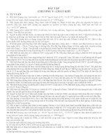 Gián án Bài tập về Chất khí