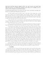 PHƯƠNG HƯỚNG HOÀN THIỆN CễNG TÁC KẾ TOÁN TẬP HỢP CHI PHÍ SẢN XUẤT VÀ TÍNH GIÁ THÀNH TẠI CễNG TY CƠ KHÍ VÀ SỬA CHỮA CễNG TRèNH CẦU ĐƯỜNG BỘ II