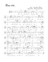 Bài hát bạn tôi - Võ Thiện Thanh (lời bài hát có nốt)