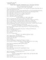 Gián án PHÂN PHỐI CHƯƠNG TRÌNH PHỤ ĐẠO 10-11