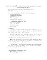 PHÂN TÍCH HỆ THỐNG QUẢN LÝ THƯ VIỆN TẠI TRƯỜNG CẤP III NĂNG KHIẾU THAI BÌNH