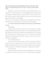 MỘT SỐ Ý KIẾN NHẰM HOÀM THIỆN CÔNG TÁC KẾ TOÁN TIÊU THỤ VÀ XÁC ĐỊNH KẾT QUẢ TIÊU THỤ Ở CÔNG TY KHOÁ MINH KHAI