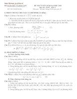 Bài giảng LT cấp tốc Toán 2010 số 6