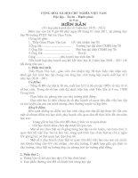 Bài giảng Biên Bản họp phụ huynh HK I