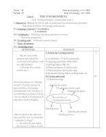 Bài giảng GA anh 9 K 2 - 2010-2011