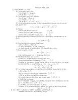 70 câu trắc nghiệm vật rắn (Có đáp án)