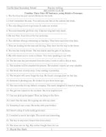 Bài soạn Bài tập AV 8, 9  - Part 12