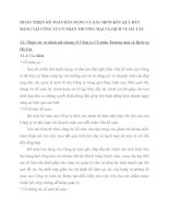HOÀN THIỆN KẾ TOÁN BÁN HÀNG VÀ XÁC ĐỊNH KẾT QUẢ BÁN HÀNG TẠI CÔNG TY CỔ PHẦN THƯƠNG MẠI VÀ DỊCH VỤ HÀ TÂY