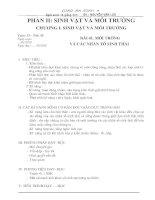 Bài soạn Bai 41. Moi truong va cac nhan to sinh thai
