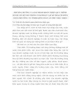 PHƯƠNG HƯỚNG VÀ GIẢI PHÁP HOÀN THIỆN QUY TRÌNH ĐÁNH GIÁ RỦI RO TRONG GIAI ĐOẠN LẬP KẾ HOẠCH KIỂM TOÁN DO CÔNG TY TNHH KIỂM TOÁN AN PHÚ THỰC HIỆN